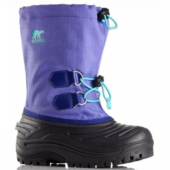 Sorel Super Trooper Boot Purple Arrow/Reef