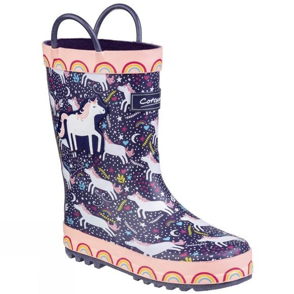 Cotswold Girls Sprinkle Unicorn Welly Unicorn