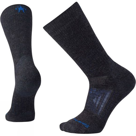 SmartWool PhD Outdoor Heavy Crew Socks Charcoal