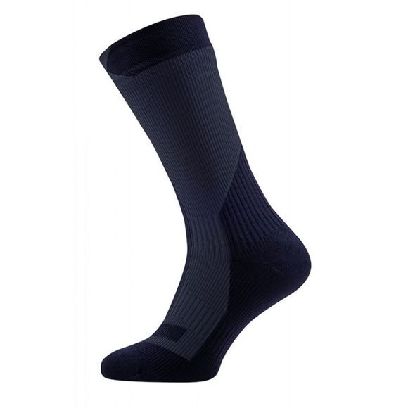 SealSkinz Trekking Thick Mid Sock Black/Anthracite