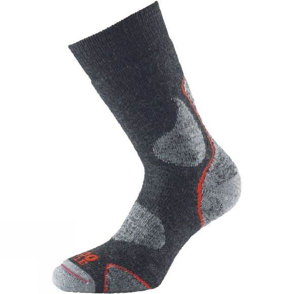 1000 Mile 3 Season Walk Sock Charcoal