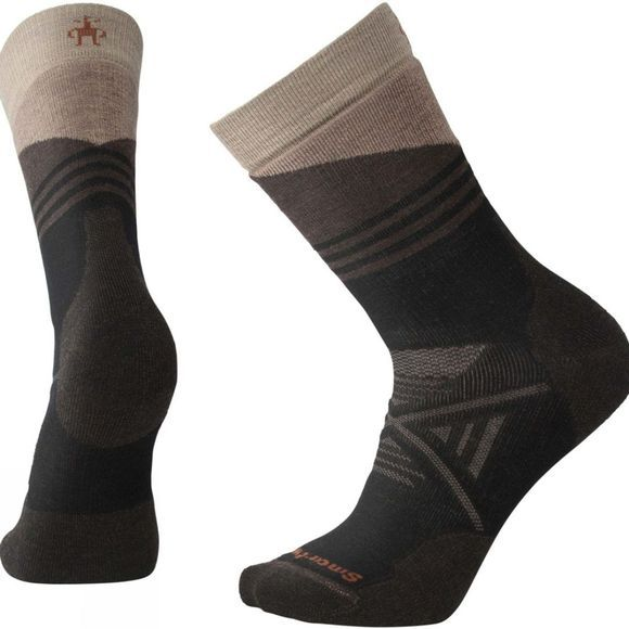 Mens PHD Outdoor Medium Pattern Crew Socks