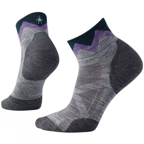 SmartWool Womens PhD Outdoor Approach Mini Socki Light Grey