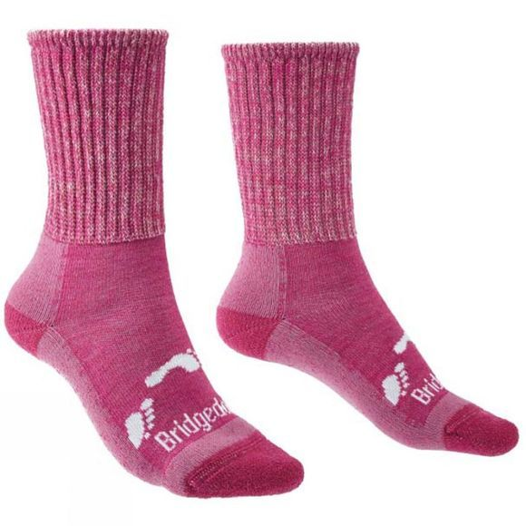Bridgedale Children's Hike All Season Merino Comfort Socks Pink