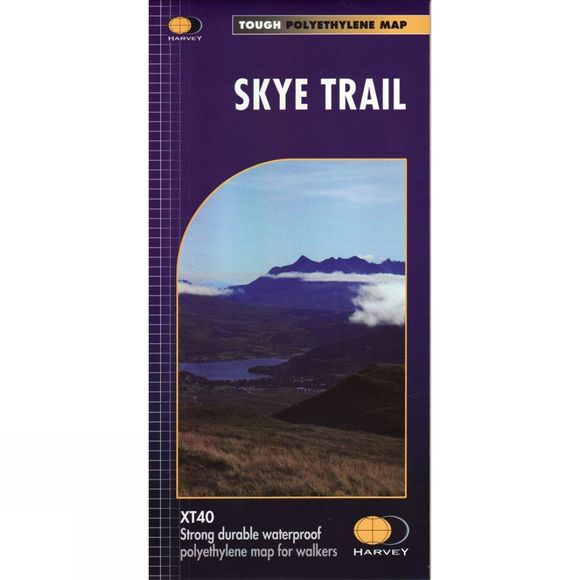 Harvey Maps Skye Trail Map 1:40K No Colour