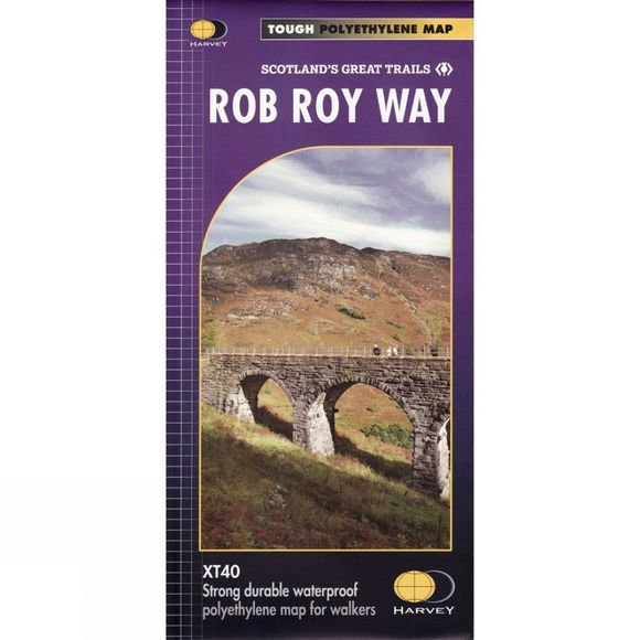 Rob Roy Way Map 1:40K