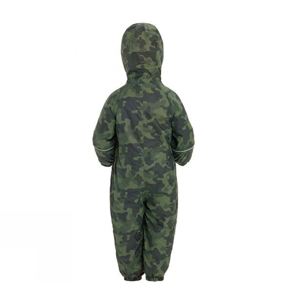 Regatta Boys Printed Splat II Suit Cypress Green Camo Print