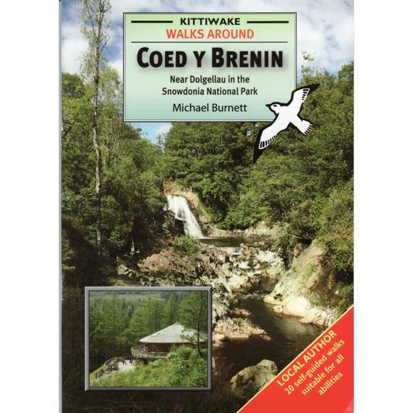 The Kittiwake Press Walks around Coed y Brenin No Colour