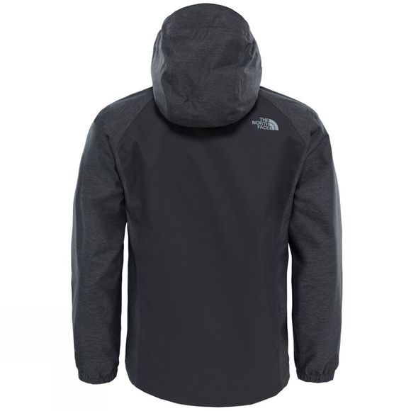 The North Face Boys Resolve Reflective Jacket Age 14+ Graphite Grey