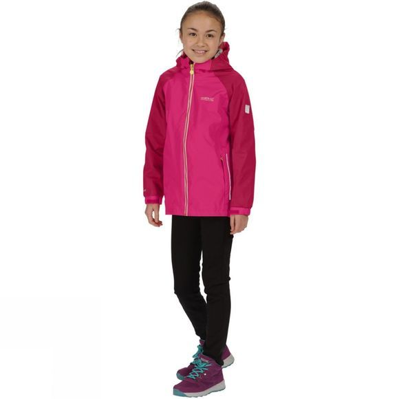 Regatta Kids Luca IV 3 in 1 Jacket Duch Pink/Persian Red