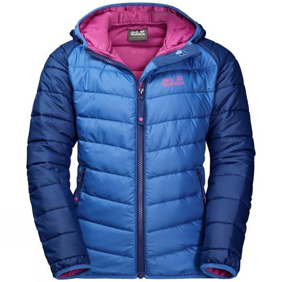 Jack Wolfskin Kids Zenon Jacket Royal Blue/Fuchsia