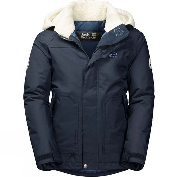 Jack Wolfskin Boys Great Bear Jacket Night Blue