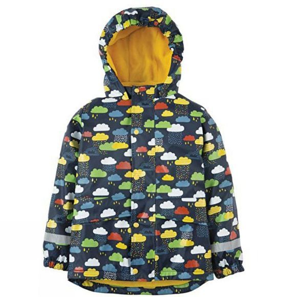 Frugi Kids Puddle Buster Jacket Navy