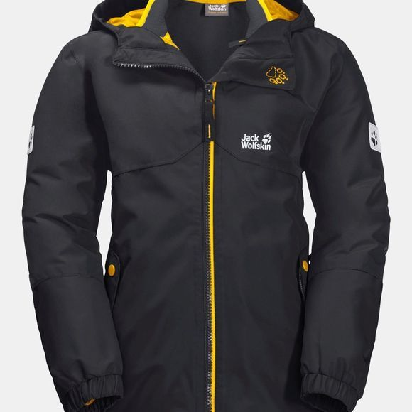 Jack Wolfskin Iceland 3in1 Jacket ll Phantom