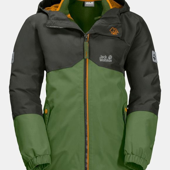 Jack Wolfskin Iceland 3in1 Jacket ll Antique Green