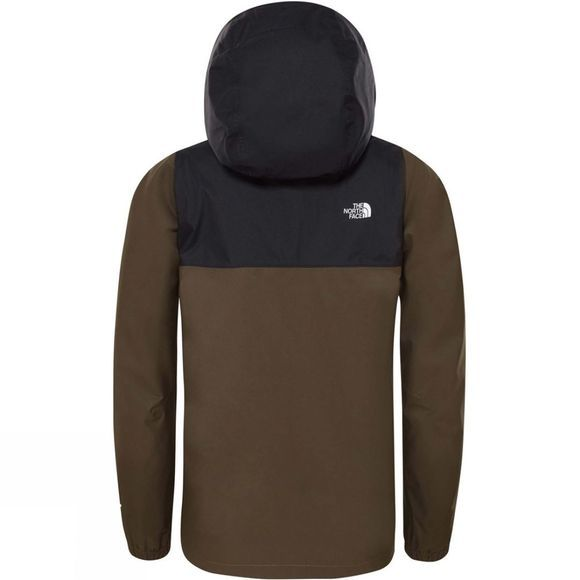 The North Face Boys Resolve Reflective Jacket New Taupe