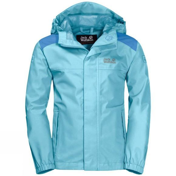 Jack Wolfskin Boys Oak Creek Jacket Gulf Stream