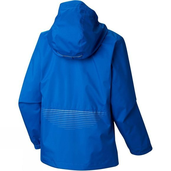 Columbia Boys Splash S'more Rain Jacket Super Blue, Col