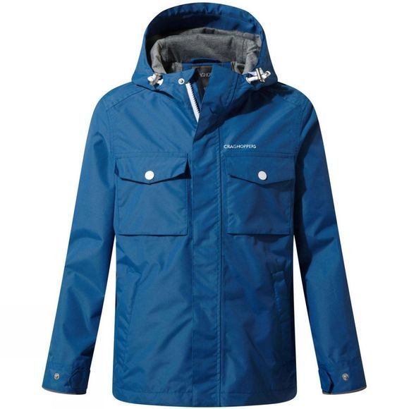 Craghoppers Boys Fausto Jacket Delft Blue