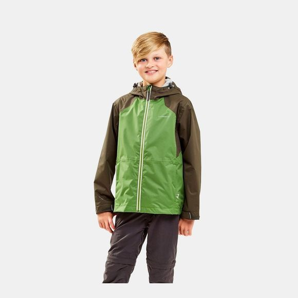 Craghoppers Boys Amadore Jacket Woodland Green/Agave