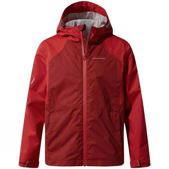 Craghoppers Boys Amadore Jacket Firth Red / Garnet