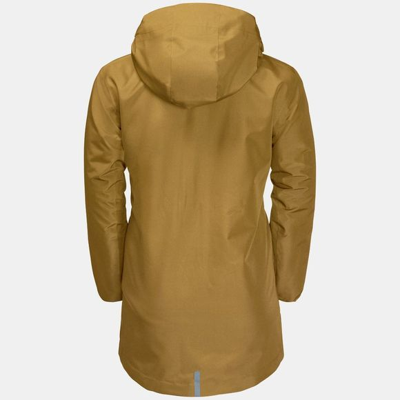 Jack Wolfskin Boys Ice Cave 3In1 Jacket Golden Amber