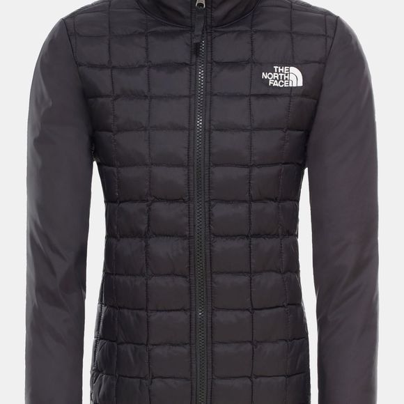 The North Face Boys Thermoball  Eco Zip-In Triclimate Jacket Tnf Medium Grey Heather