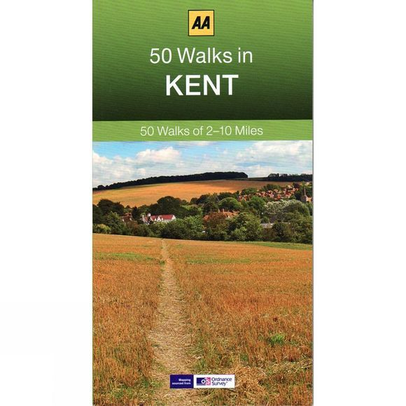 AA Publishing 50 Walks in Kent No Colour