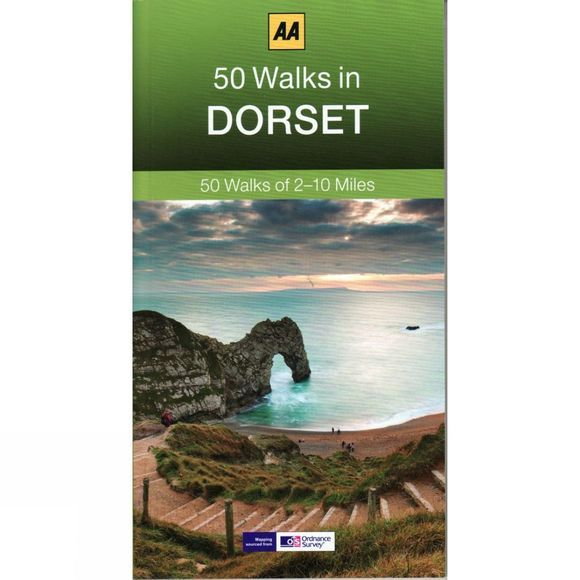 AA Publishing 50 Walks in Dorset No Colour