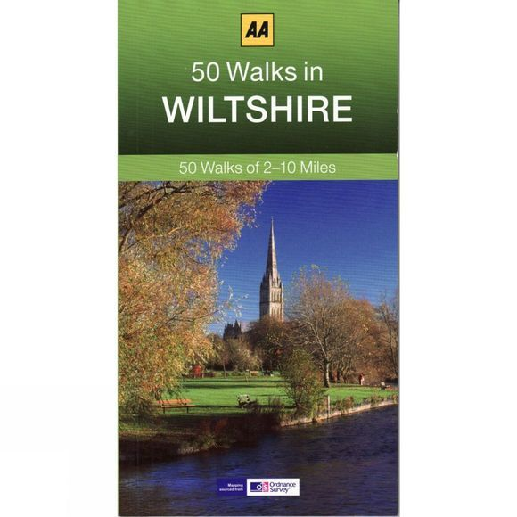 AA Publishing 50 Walks in Wiltshire No Colour