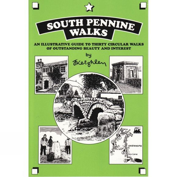 Cicerone South Pennine Walks No Colour