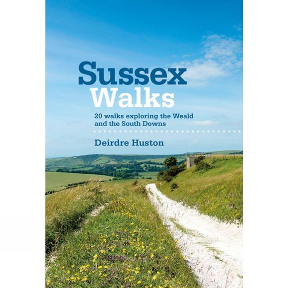 Vertebrate Publishing Sussex Walks No Colour