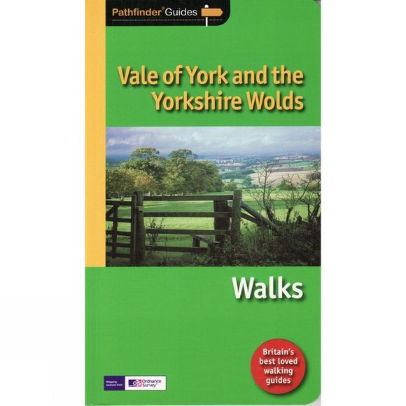 Jarrold Publishing Vale of York and the Yorkshire Wolds Walks: Pathfinder Guide No Colour