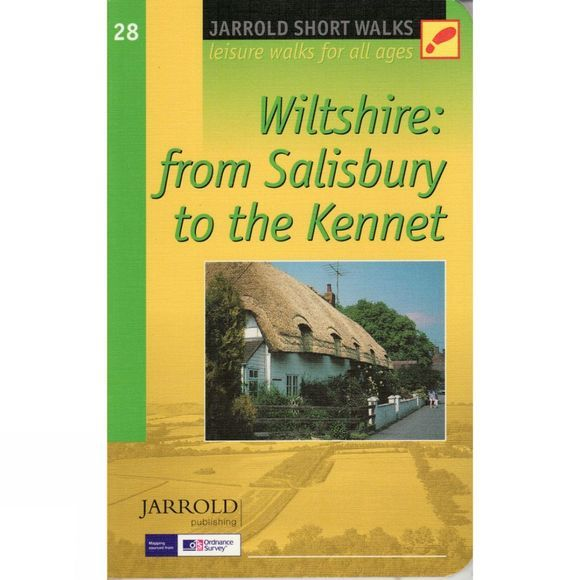 Jarrold Publishing Wiltshire: From Salisbury to the Kennet: Pathfinder Short Walks 28 No Colour