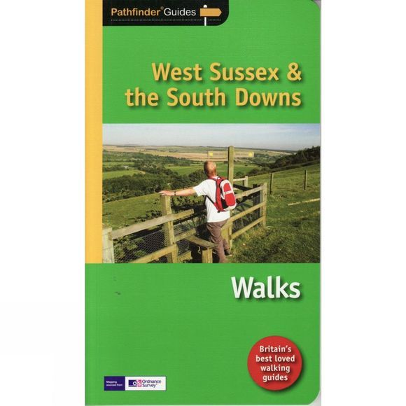 Jarrold Publishing West Sussex and the South Downs Walks: Pathfinder Guide No Colour