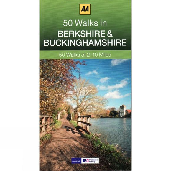 AA Publishing 50 Walks in Berkshire and Buckinghamshire No Colour