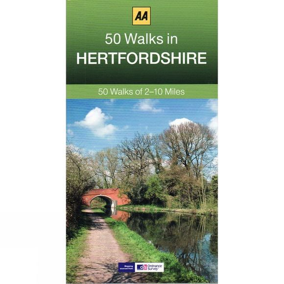 AA Publishing 50 Walks in Hertfordshire No Colour
