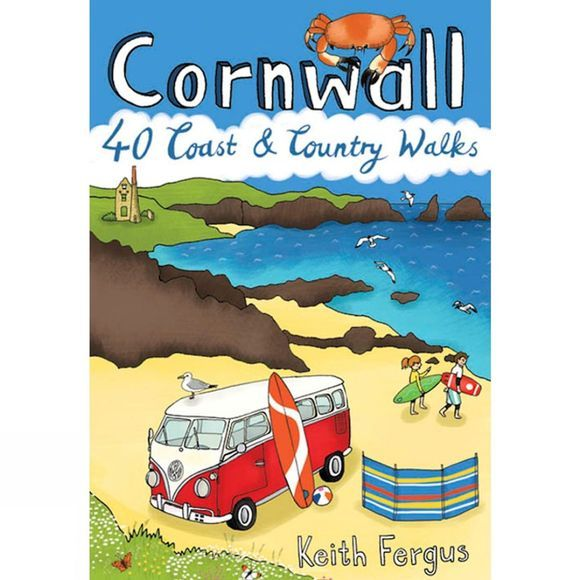 Pocket Mountains Ltd Cornwall: 40 Coast and County Walks No Colour