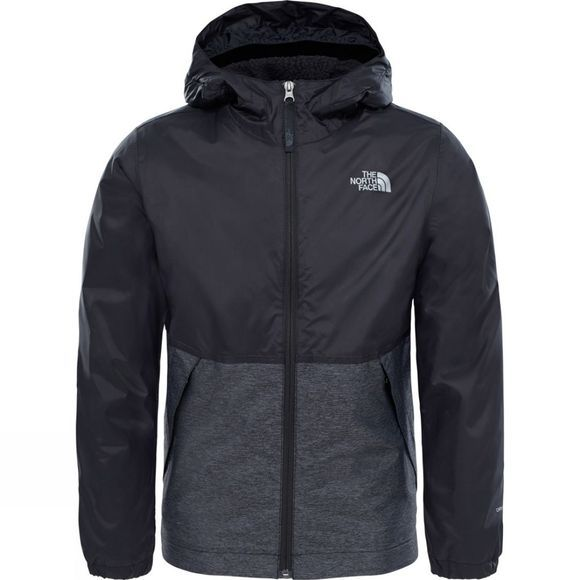 The North Face Boys Warm Storm Jacket TNF Black