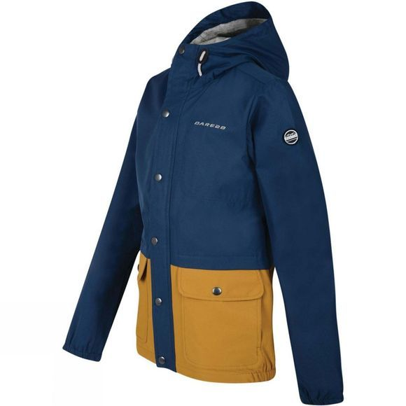 Dare 2 b Boys Prescript Jacket Admiral Blue /Golden Brown