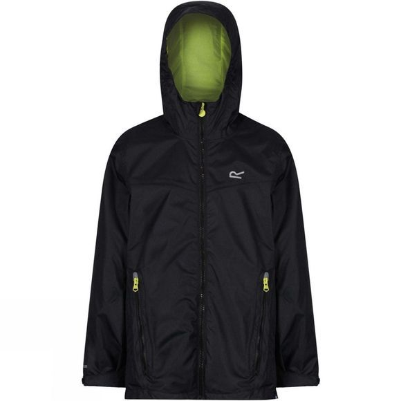 Regatta Boys Allcrest III Waterproof Jacket 14+ Black