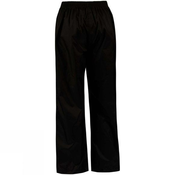 Regatta Boys Pack-It Overtrousers 14+ Black