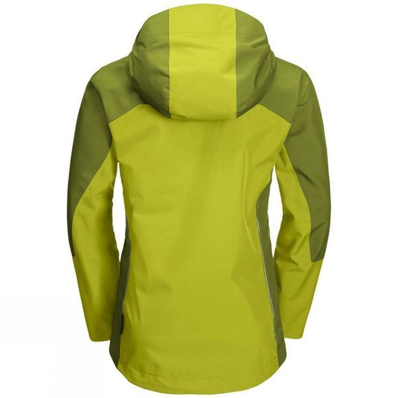 Jack Wolfskin J Wolf Akka Jacket Boys Green Lime