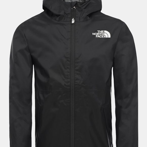 The North Face Boys Zipline Rain Jacket 14+ TNF Black