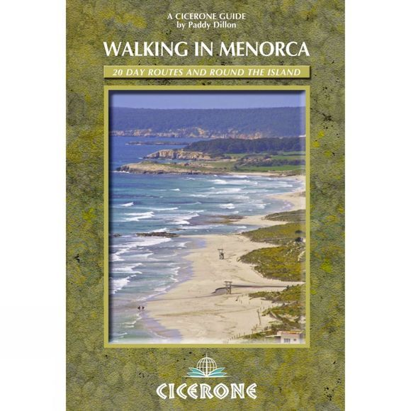 Cicerone Walking in Menorca: 20 Day Routes and Round the Island No Colour