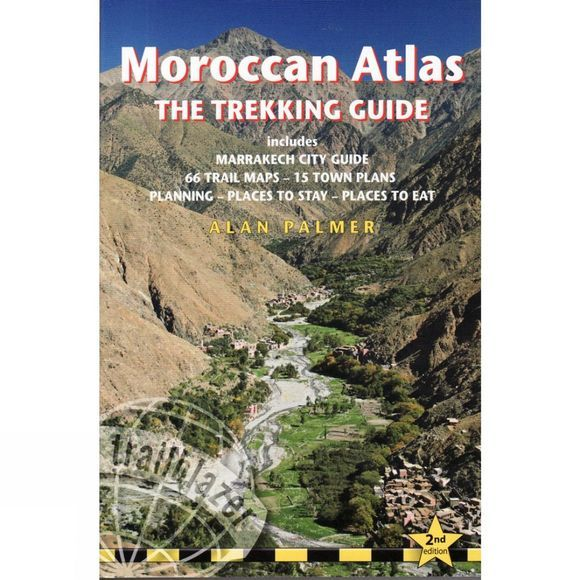 Trailblazer Moroccan Atlas: The Trekking Guide 2nd Edition, 2014