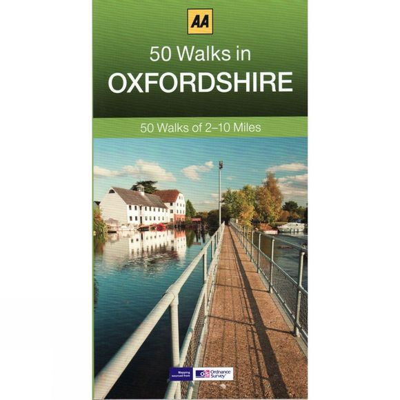 AA Publishing 50 Walks in Oxfordshire No Colour