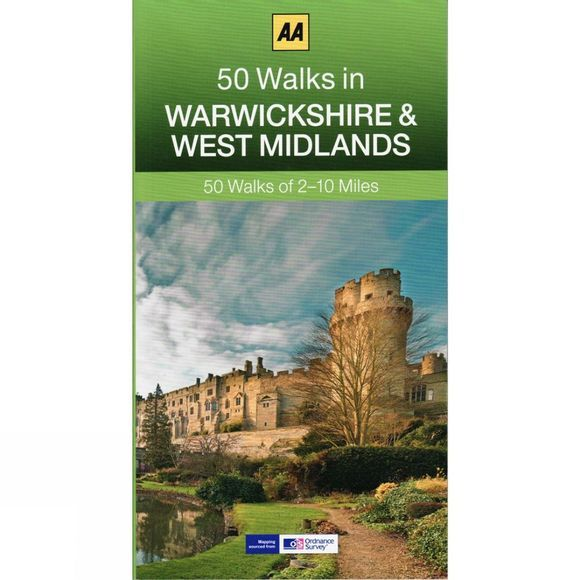 AA Publishing 50 Walks in Warwickshire and West Midlands No Colour