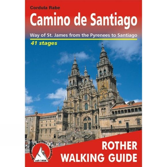 Bergverlag Rother Camino de Santiago: Rother Walking Guide No Colour