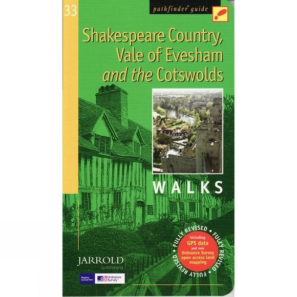 Jarrold Publishing Shakespeare Country, Vale of Evesham and the Cotswolds Walks: Pathfinder Guide 33 No Colour
